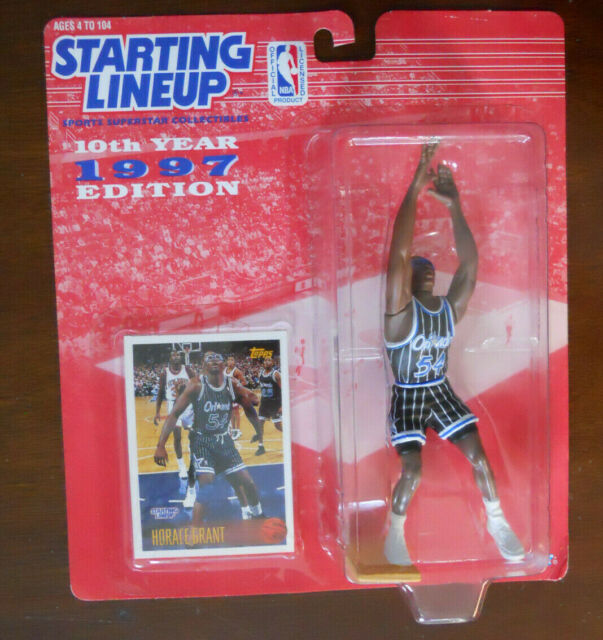 Starting Line Up HORACE GRANT w Goggles Orlando Magic #54 Basketball Figure 1997