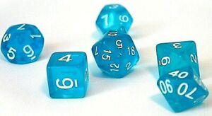 RPG-Wuerfel-Set-7-teilig-Poly-DND-BlauTabletop-dice4friends-w4-w20-Rollenspiel
