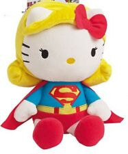 Hello Kitty DC Comics Superwoman/Superman Plush Doll Soft Toy 27cm
