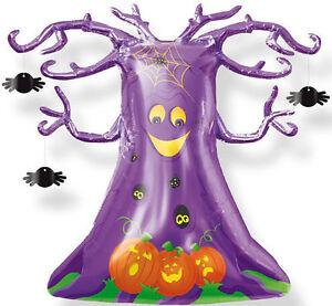 HALLOWEEN-BALLOON-33-034-SPOOKY-TREE-WITH-SPIDERS-SUPERSHAPE-ANAGRAM-BALLOON