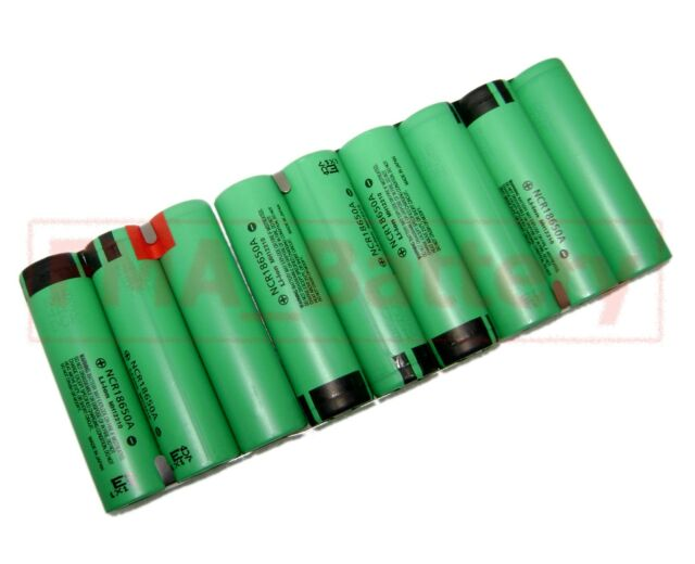 1x Panasonic Rechargeable Li-ion Battery 18650 11.1V 9300MAH 3S3PBT by 9pc cell