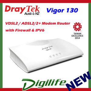 DrayTek Vigor130 (Modem 4) Router Drivers Update