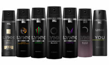 Multi-Pack Lynx Mens Body Spray Deodorant Aerosols Ultimate Fragrance Collection