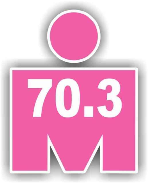 VRS Heart Beat Line Running Man 13.1 26.2 Half Marathon 5k 10k CAR METAL DECAL