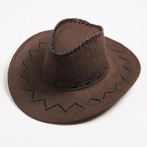 Cowboy Western Shapeable chapeau de paille large bord Cowgirl Summer Beach Sun Cap Pretty