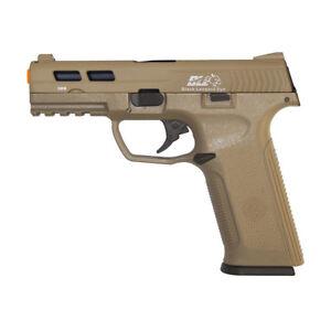 Ics Ble Xae Airsoft Gun Gas Blowback Gbb Pistol 300 Fps Realistic Recoil Tan Ebay