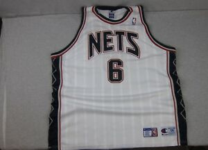 Image is loading Vintage-Champion-Sewn-New-Jersey-NJ-Nets-Kenyon- 20bbbb363