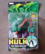 The Incredible Hulk Super Poseable Savage Hulk Bendable Steel Girder Figure