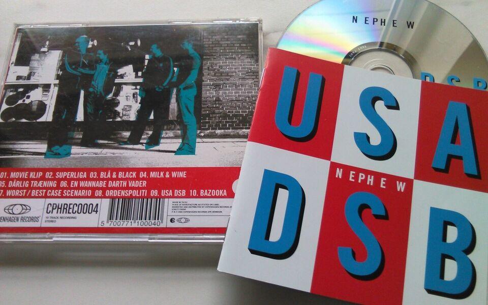 Nephew: 3 CD'er Stk 25 kr. - Eller alle 3 60 kr., pop