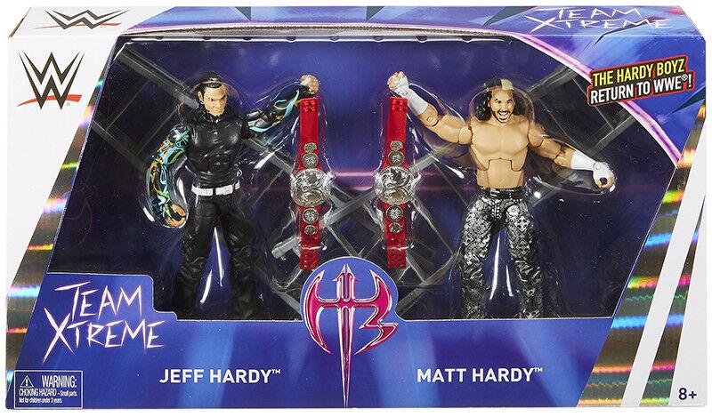 Hardy  (matt hardy & jeff hardy) - wir epischen momenten mattel - action - figuren