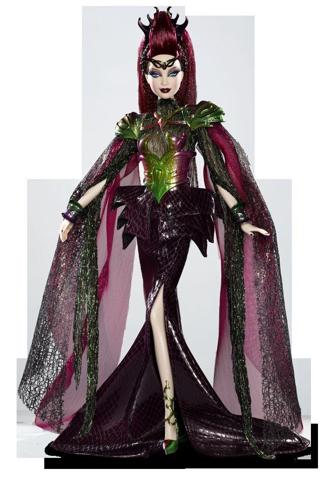 Emperatriz de los Aliens muñeca Barbie con puños y tacones hermosa hecha a mano Recargado