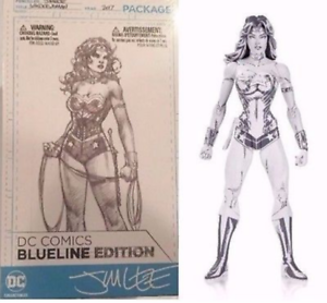 DC blueeline Edition Wonder Woman Jim Lee Action Figure