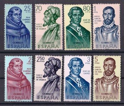 1418-1425 Entdecker Und Eroberungs Geschichte Gute QualitäT Geschichte Humor Spanien 1963 Postfrisch Minr Spanien & Kolonien