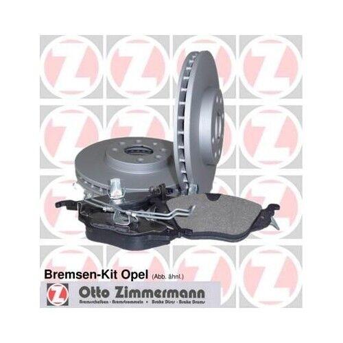 Zimmermann Bremsensatz Bremsscheiben Beläge OPEL ASTRA H L48 OPEL ASTRA H GTC