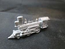 Dollhouse Miniature Unfinished Metal Locomotive Train Engine #3