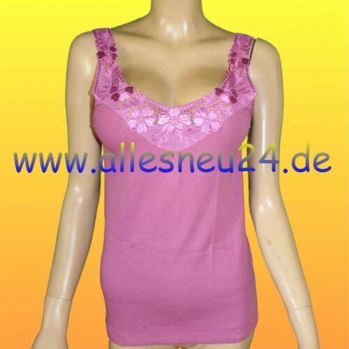 Thieme 2 couleurs taille 50 /& 52 Bras Coton 6er-Pack Femmes maillot corps à bretelles O
