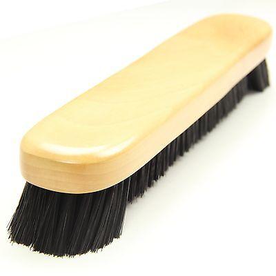 "12"" Light Oak Wood Bristled Snooker Pool Table Brush"
