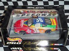 Hot Wheels: Nascar Ernie Irvan #36 Skittles 1:43, VHS Tape & Trading cards