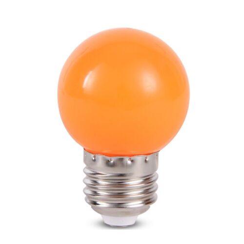 E27 220V SMD2835 Bombillas Energy Saving Lamparas 1W 3W Colorful Screw Led Bulb