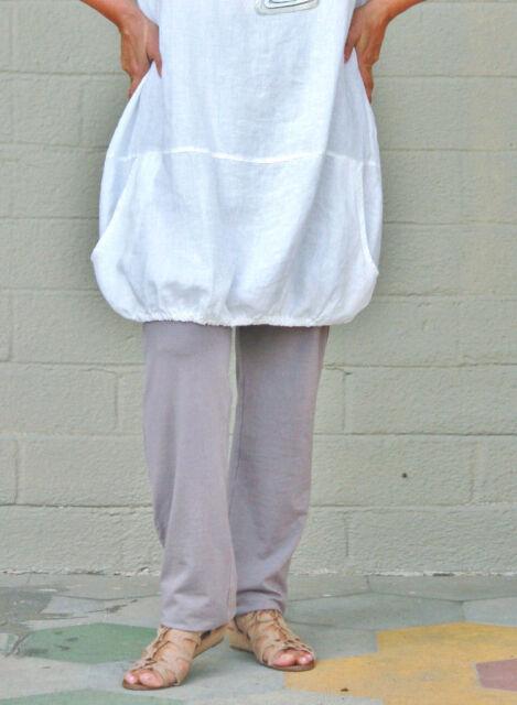 BRYN WALKER  Soft Bamboo Jersey  SLIM PANT Narrow Leg   XS  S  M  L  XL  DOLPHIN