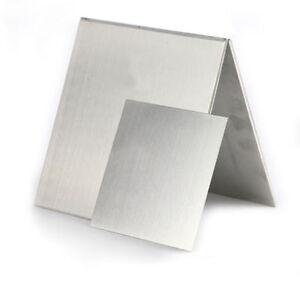 Aluminium-Sheet-Plate-Metal-DIY-Model-Craft-0-3-0-5-1-2mm-Thick-Choose-Sizes