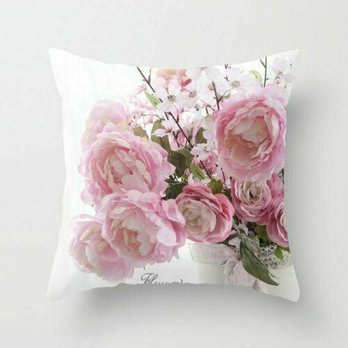 Artificial for throw Decor case pillows cover flower cushion official sofa Home
