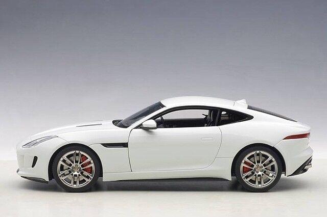 Entrega gratuita y rápida disponible. Jaguar F-Type 2015 R Polaris blanco 1 18 Autoart Autoart Autoart  nuevo estilo