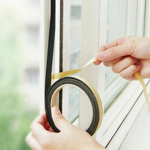Gap Rubber Anti Collision Seal Strip EVA Foam Sealing Tape Draught Excluder