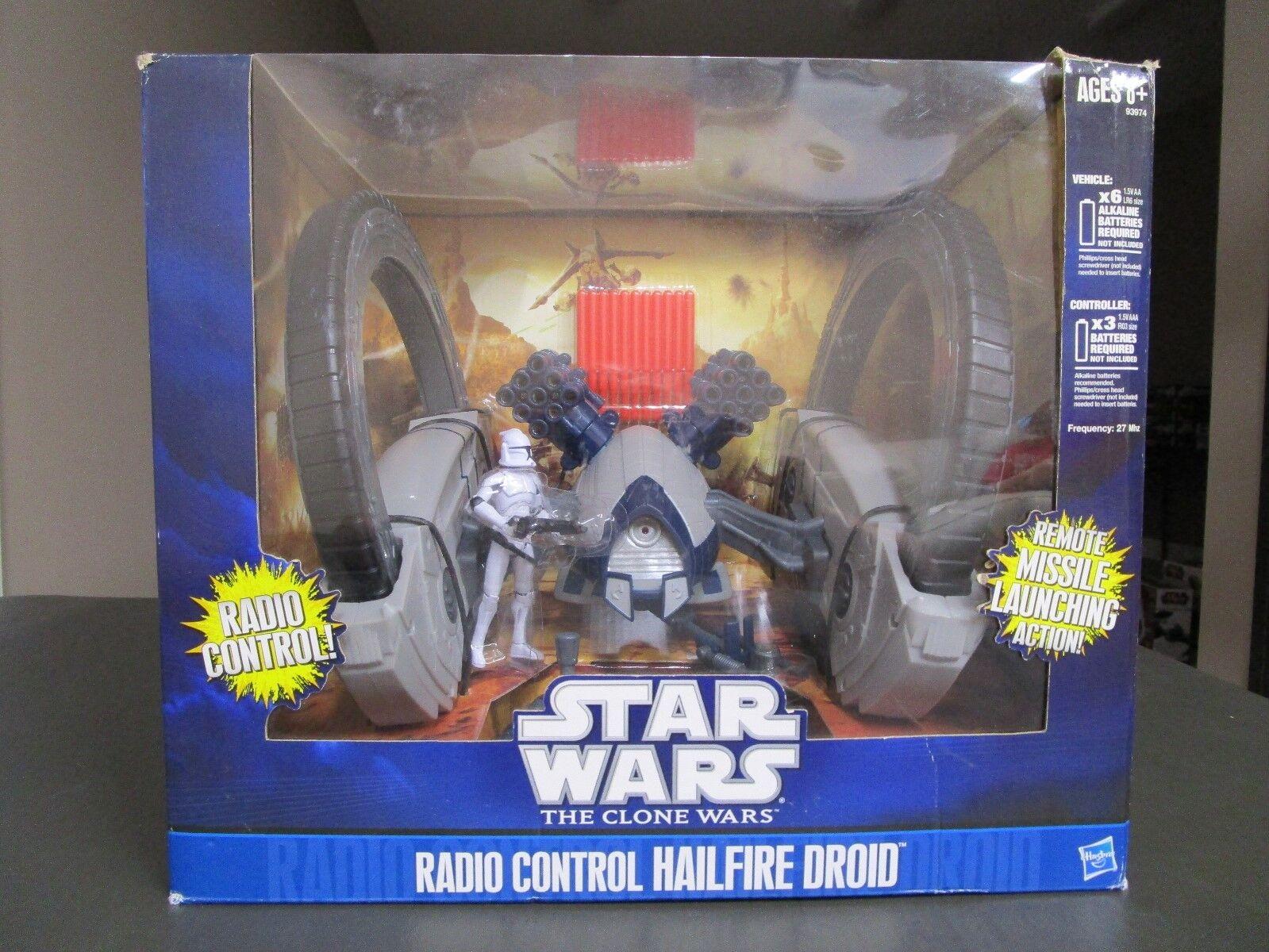 Radio Control Hailfire Droid 2010 STAR WARS The Clone Wars TCW MIB