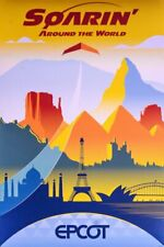 0332 Disney EPCOT Poster Illuminations