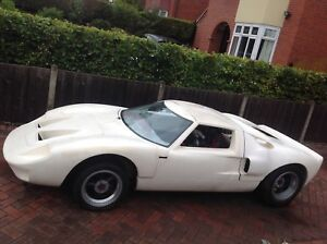 Gt40 Kitcar Collectors Unfinished Project American Ebay