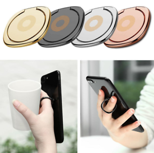 360 rotation metall handyhalter ring halterung st nder fingerring f r handy de ebay. Black Bedroom Furniture Sets. Home Design Ideas