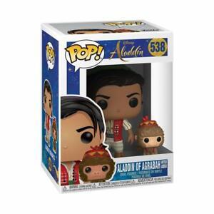 Funko-Pop-Disney-Aladdin-Aladdin-de-Agrabah-avec-Abu-Figurine