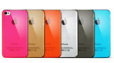 5 x NEW iPhone 4 4s  0.3 Ultra-thin Clear Hard Case Covers Skins ALL DIFFERENT