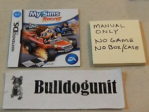 Details about My Sims Racing Nintendo DS Manual Only No Game