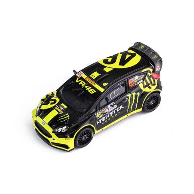 Ixo RAM603 Ford Fiesta WRC #46 Monster Rally Monza 2014 Escala 1:43 Nuevo! °