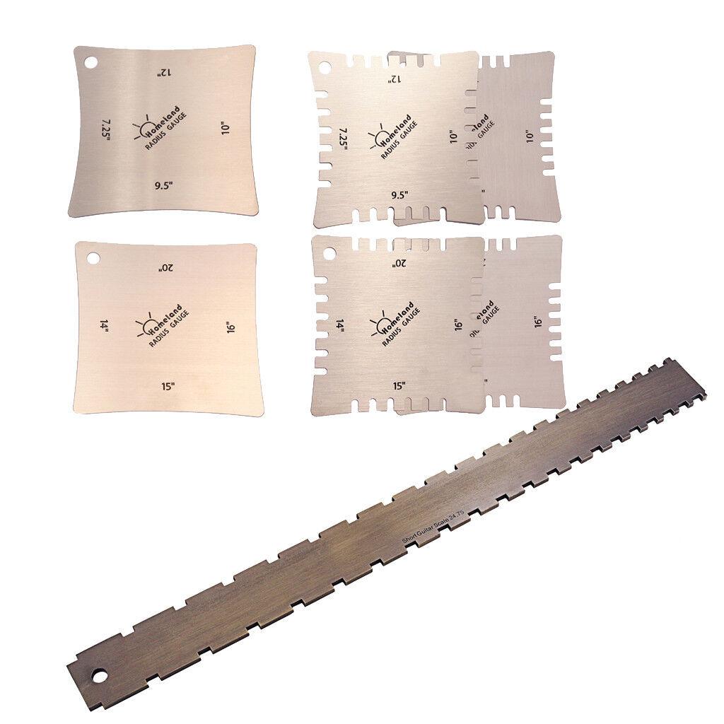 Strumenti per liuteria per basso basso basso in acciaio inossidabile Righello per  ofreciendo 100%