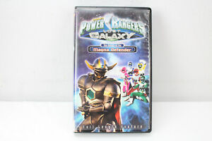 Power Rangers Lost Galaxy: Return of the Magna Defender ...Power Rangers Lost Galaxy Magna Defender Vhs