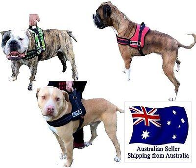 Control Dog Harness Large M L XL Stop Pulling Adjustable Training Pet Comfy Car