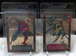 SKYBOX 1994 Amazing Spider-Man Suspended Animation Card Set