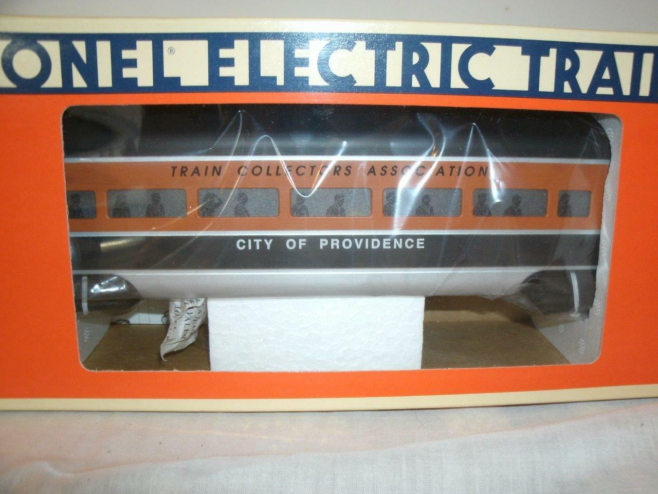 52143 T.C.A. 0 gauge Aluminum Passenger-City of Providence-Shipping Box included