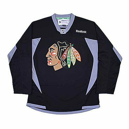 Reebok NHL Youth Chicago Blackhawks Black Practice Jersey
