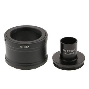 Adattatore per obiettivo compatibile con fotocamere Sony NEX E-Mount T2-NEX