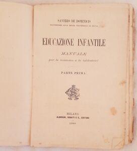 SAVERIO-DE-DOMINICIS-EDUCAZIONE-INFANTILE-MANUALE-PEDAGOGIA-PSICOLOGIA-BAMBINI