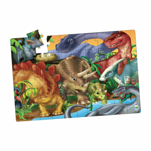 Creatures of the Past Jumbo Puzzle 50 Pieces