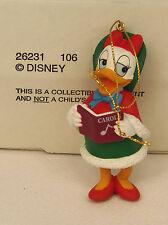Groiler Disney DAISY DUCK Caroller Christmas Magic Ornament #106 MINT in BOX