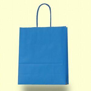 10-100 Papiertragetaschen Kordel gelb 22+10x31cm Papiertüten Papiertasche Tüte