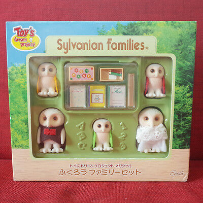 Sylvanian Families Toy's Dream Project OWL FAMILY Epoch Japan Calico Critters