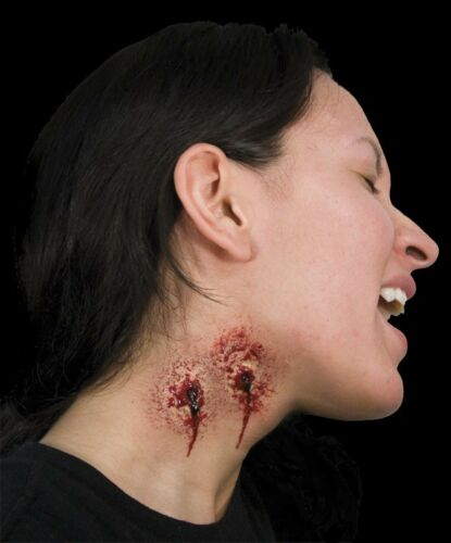 Everlasting Kiss Vampire Bite Latex Appliance Prosthetic Woochie Cinema Secrets