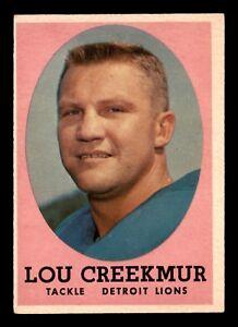 LOU-CREEKMUR-1958-TOPPS-1958-NO-81-EX-22708